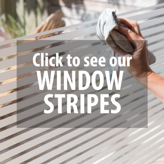 STATIC WINDOW STRIPES